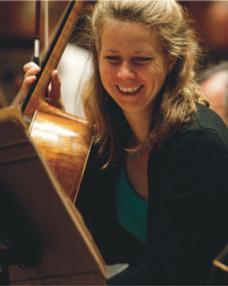 Rebecca Gilliver, cello
